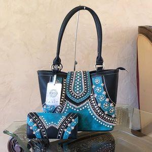 NWT Montana west conceal carry handbag&wallet
